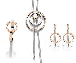 Cablecar Jewelry The Circle Collection Evaine Set