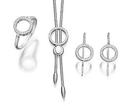 Cablecar Jewelry Evaine Finesse Set BL591, BL586A, BL588A
