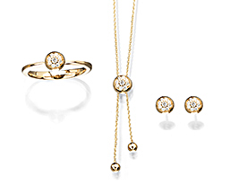 Cablecar Jewelry The Shorty Collection Pavé Set Ref. BL546B